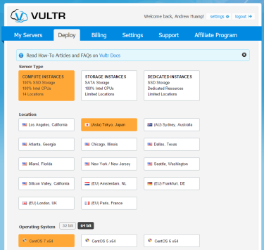 VULTR-Deploy